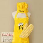 Celemek apron kuning