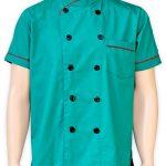 Baju Chef Lengan Pendek