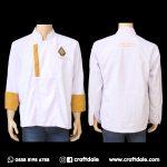 jual baju koki putih