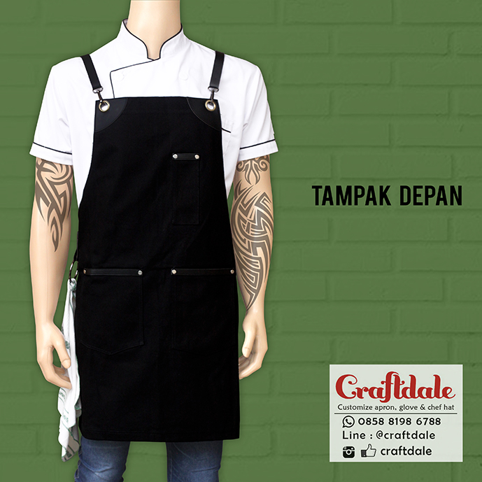 celemek barista canvas